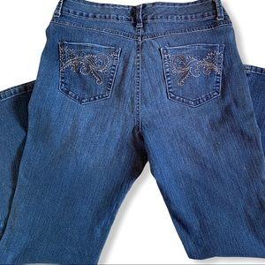 Bandolino Jeans - Bandolinoblu jeans size 10 women's